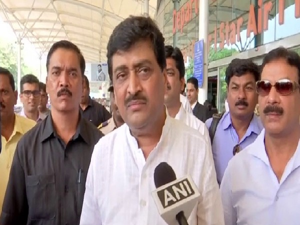 Congress leader Ashok Chavan speaking to ANI in Mumbai, Maharashtra on Tuesday.