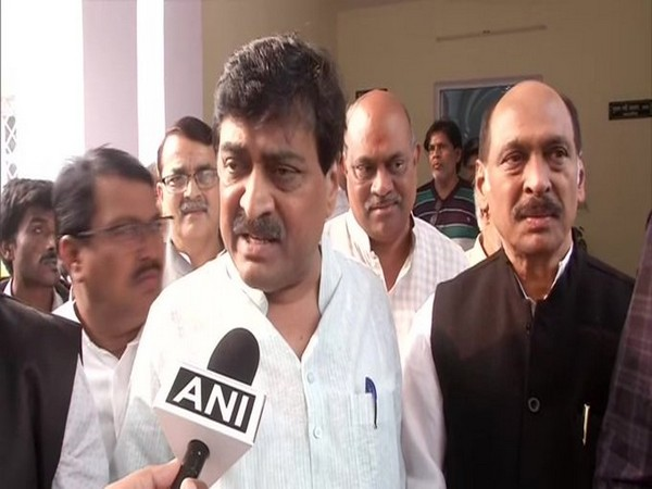 Congress leader Ashok Chavan talking to ANI in New Delhi on Friday. Photo/ANI