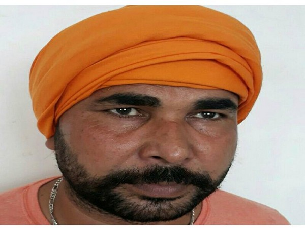 Ranjeet Rana Cheeta, one of the biggest drug smugglers arrested by Punjab Police. (Photo/ANI)