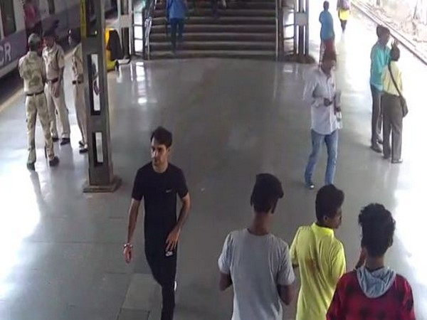 Railway Protection Force at Chembur Railway Station in Mumbai on Saturday Photo/ANI