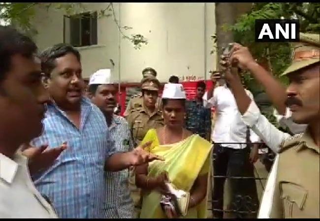 VCK party president Thirumavalavan speaking to media in Chennai, Tamil Nadu on June 15. Photo/ANI