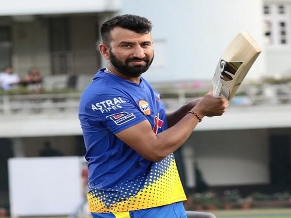 CSK batsman Cheteshwar Pujara (Image: Cheteshwar Pujara's Twitter)