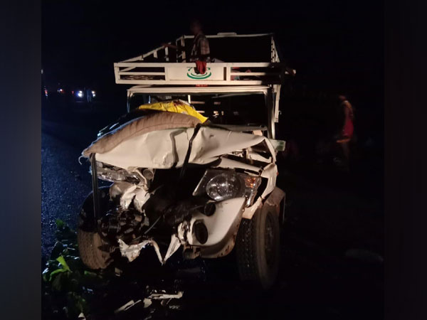 Visuals from accident site