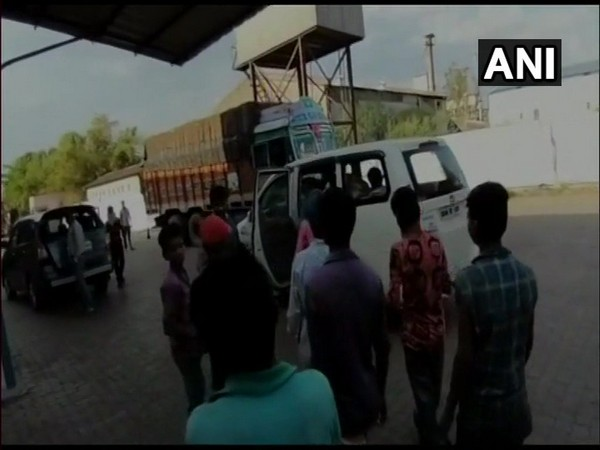 26 children were rescued from a biscuit factory in Raipur on Friday. (Photo/ANI)