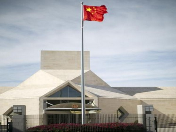 The Chinese embassy in Washington