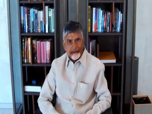 TDP president N Chandrababu Naidu