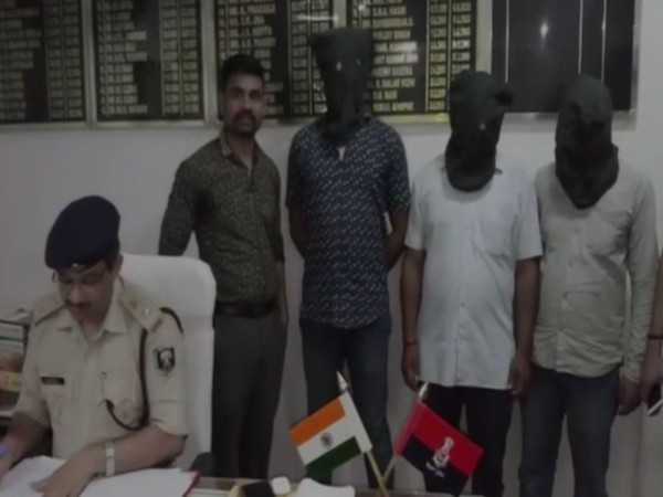 Police on Friday arrested four people in connection with double murder case in gaya, bihar. Photo/ANI
