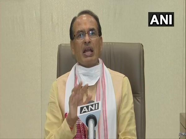 Madhya Pradesh Chief Minister Shivraj Singh Chouhan speaking to ANI in Bhopal on Thursday. (Photo/ANI)
