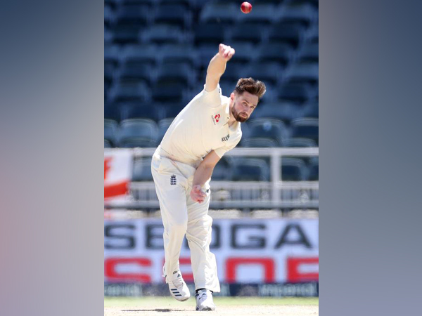England pacer Chris Woakes.