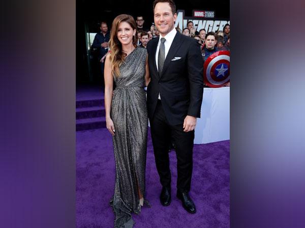 Celebrity couple Chris Pratt and Katherine Schwarzenegger