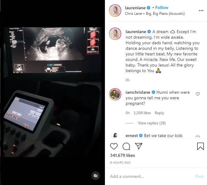 Chris Lane and Lauren Bushnell Expecting First Child