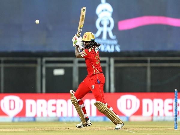 Punjab Kings batsmen Chris Gayle  (Image: BCCI/IPL)