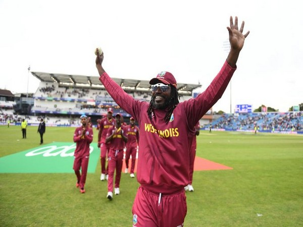 West Indies' Chris Gayle (Photo/ Windies Cricket Twitter)
