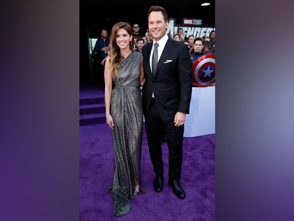 Chris Pratt and Katherine Schwarzeneggar