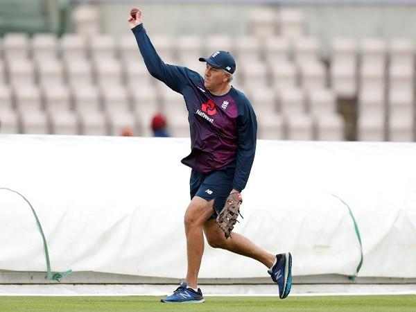 England cricket coach Chris Silverwood.