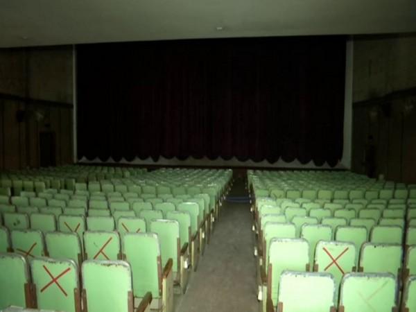 A film theatre in Bengaluru.