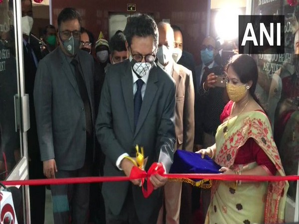 Chief Justice of India Sharad Arvind Bobde at the inauguration of the eSEWA Kendra.