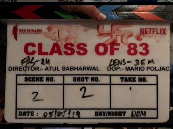 clapperboard of the Netflix film(picture courtesy: Instagram)