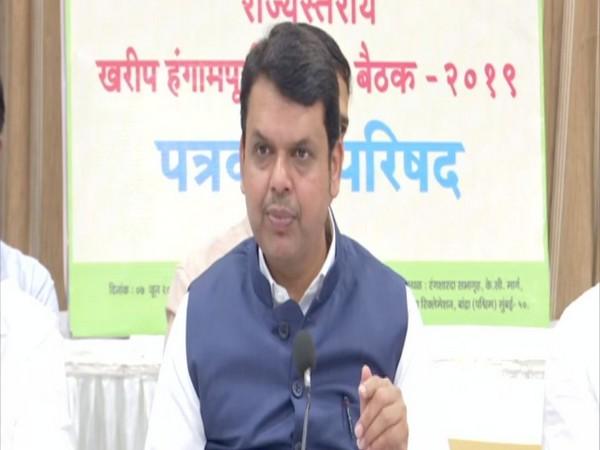 Maharashtra Chief Minister Devendra Fadnavis addressing a press conference in Mumbai