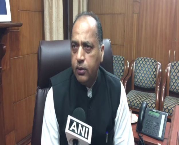 Himachal pradesh Chief Minister Jai Ram Thakur spoke to ANI on Sunday regarding floods in the state. (Photo/ANI)