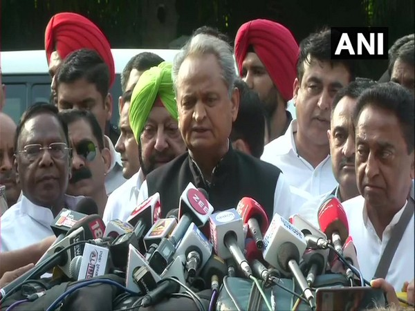 All the Chief Ministers of Congress-ruled stated addressing media after meeting party president Rahul Gandhi at his residence in New Delhi on Monday.