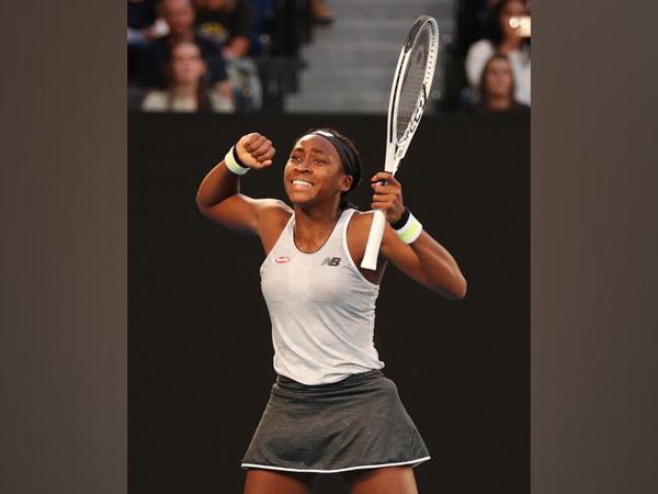 American tennis player Coco Gauff (file image)