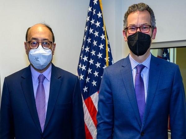 Foreign Secretary Harsh Vardhan Shringla met US Under Secretary of Defense for Policy, Colin Kahl on Friday.