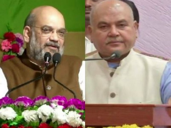 BJP President Amit Shah (Left) and Narendra Singh Tomar (right). Photo/ANI