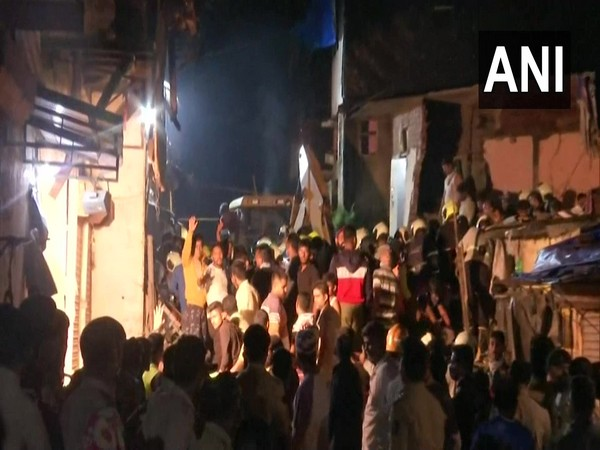 Visuals from the incident site in Mumbai.