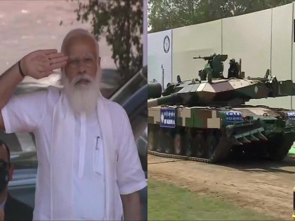 Prime Minister Narendra Modi on Sunday hand over the Arjun Main Battle Tank (MK-1A) to Army Chief General MM Naravane at Jawaharlal Nehru Stadium in Chennai.