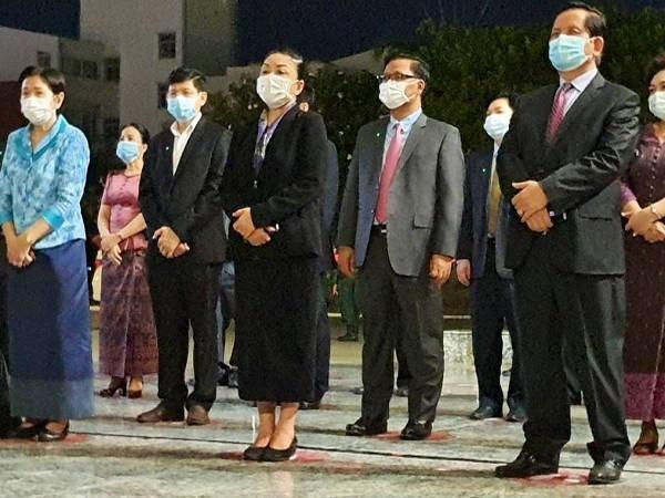 Cambodia receives Made-in-India COVID-19 vaccines  (Photo Credit: Twitter/ S Jaishankar)
