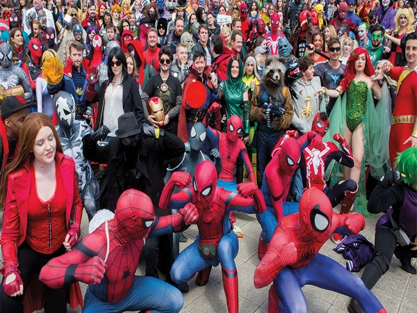 Comic Con (Image source: Instagram)