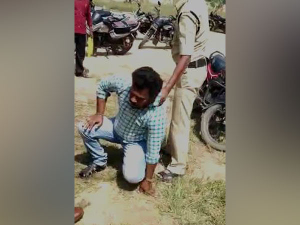 A person allegedly tried to commit suicide by consuming insecticide here at Gummagatta Tehsildar office in Anantapur in AP on Monday