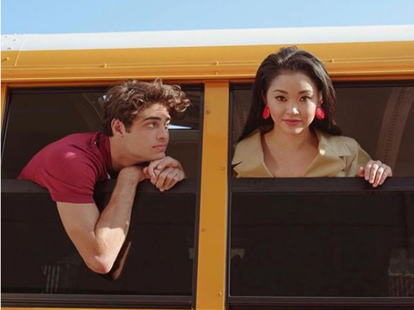 Noah Centineo and Lana Condor in 'To All The Boys' first part (Image source: Instagram)