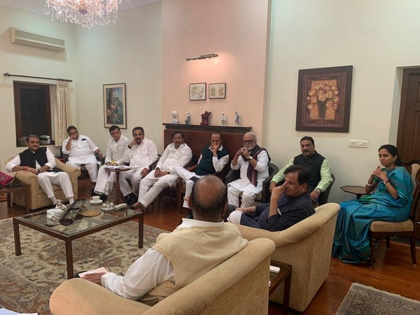 Visual from the meeting in New Delhi on Wednesday.