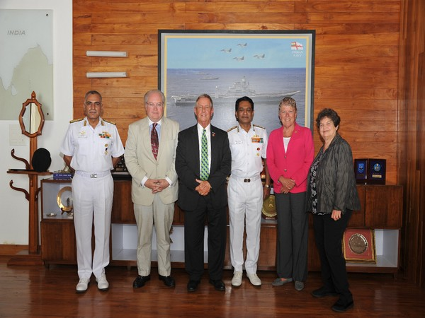 A US Congressional Delegation met Vice Admiral Ajit Kumar on Wednesday