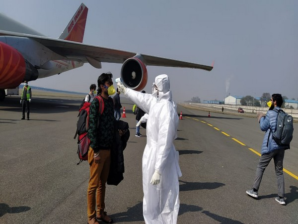 All the 330 passengers had undergone screening after they deboarded from the Air India flight.