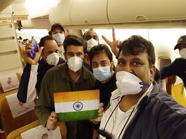 Indian nationals on special Air India flight sent to Japan for their repatriation to India.
