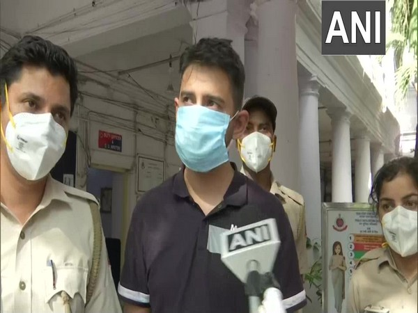 Pankaj Dutta, accused of misbehaving with the Delhi police. (Photo/ ANI)