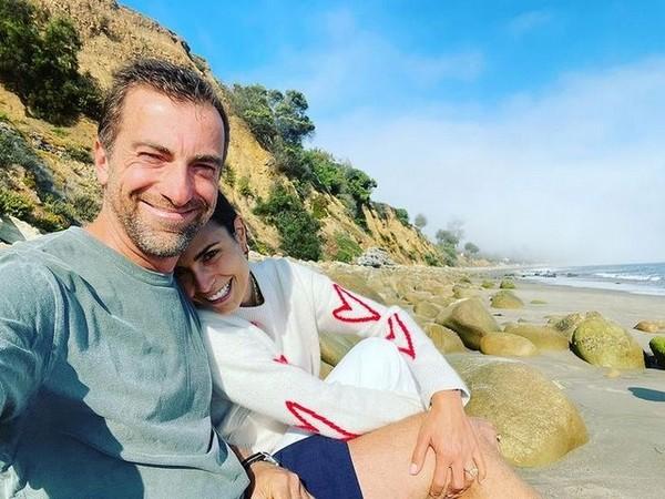 Mason Morfit and Jordana Brewster (Image source: Instagram)
