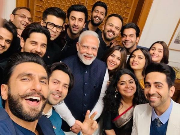 Delegation from Indian film industry with Prime Minister Narendra Modi, Image courtesy: Instagram