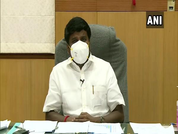 Tamil Nadu Health Minister C Vijayabaskar. (Photo/ANI)