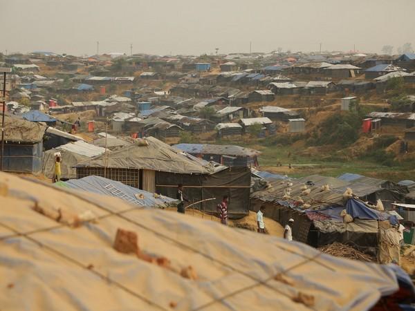 A Rohingya refugee camp at Cox's Bazar in Bangladesh