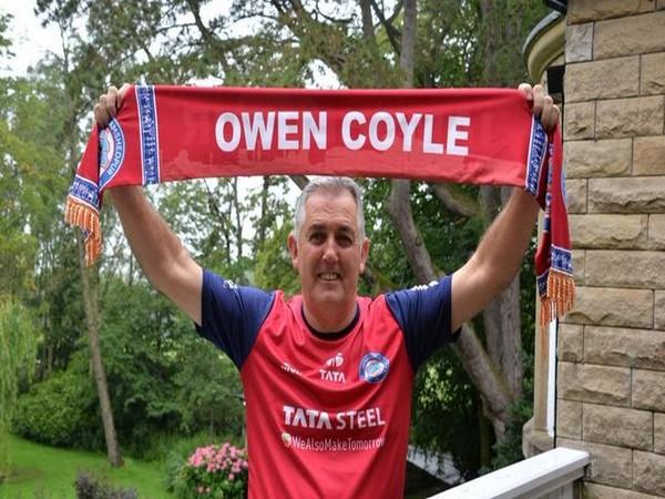 Jamshedpur FC head coach Owen Coyle (Photo/Jamshedpur FC Twitter)