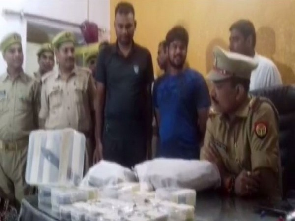 Robbers of Sagar gang arrested by the police. (Photo/ANI)
