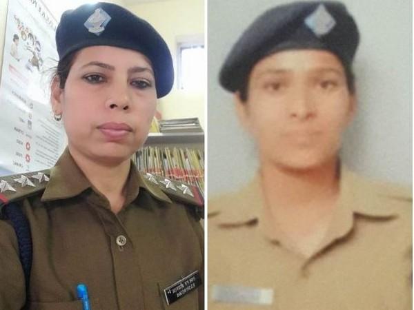 Inspector Rachna Shrivastava and lady constable Anita