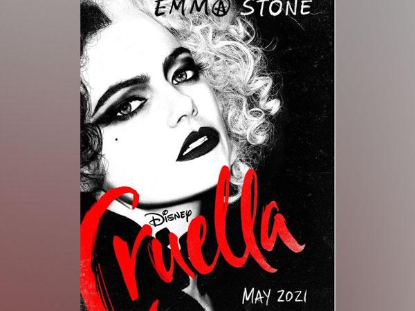 Poster of 'Cruella' featuring Emma Stone (Image source: Instagram)