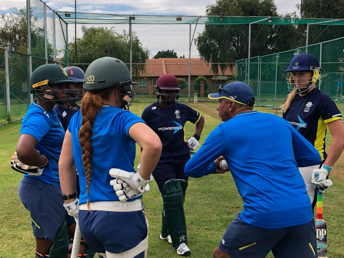 South Africa women at the national camp (Photo/CSA)