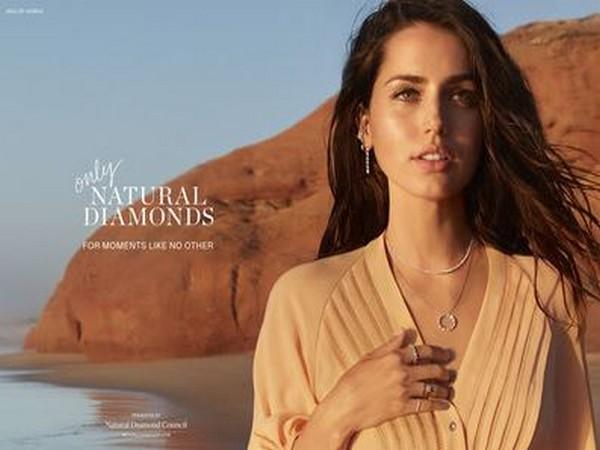 Ana de Armas for The Natural Diamond Council campaign