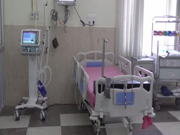 Centre has added more ventilators at GMC Baramulla in Jammu and Kashmir (Photo/ANI)